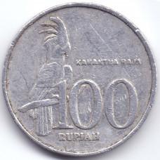100 рупий 2001 Индонезия - 100 rupees 2001 Indonesia, из оборота