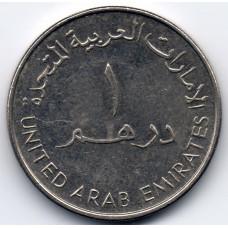 1 дирхам 2000 ОАЭ - 1 dirham 2000 United Arab Emirates, из оборота