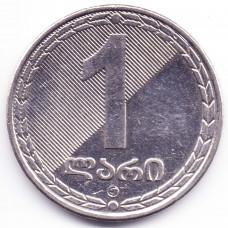 1 лари 2006 Грузия - 1 lari 2006 Georgia, из оборота