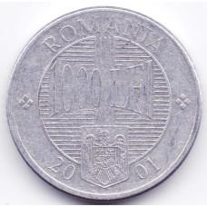 1000 лей 2001 Румыния - 1000 lei 2001 Romania, из оборота