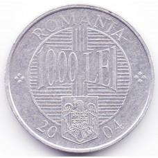 1000 лей 2004 Румыния - 1000 lei 2004 Romania, из оборота