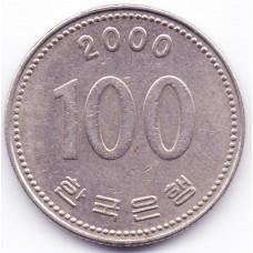 100 вон 2000 Южная Корея - 100 won 2000 South Korea, из оборота