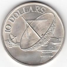 10 долларов 1978 Сингапур - 10 dollars 1978 Singapore, из оборота