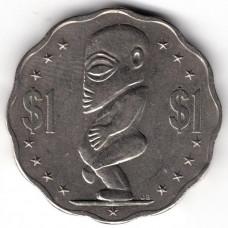 1 доллар 2003 Острова Кука - 1 dollar 2003 Cook Islands, из оборота