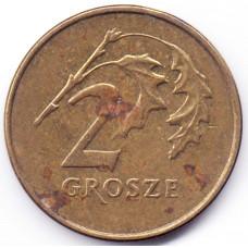 2 гроша 1991 Польша - 2 grosze 1991 Poland, из оборота