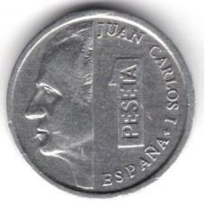 1 песета 1993 Испания - 1 peseta 1993 Spain, из оборота