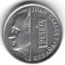 1 песета 1996 Испания - 1 peseta 1996 Spain, из оборота