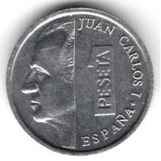 1 песета 1998 Испания - 1 peseta 1998 Spain, из оборота