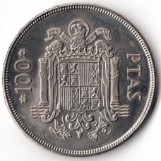 100 песет 1975 Испания - 100 pesetas 1975 Spain, из оборота