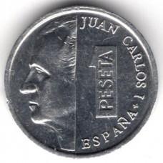 1 песета 1992 Испания - 1 peseta 1992 Spain, из оборота