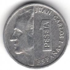 1 песета 1989 Испания - 1 peseta 1989 Spain, из оборота