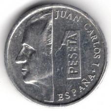 1 песета 1990 Испания - 1 peseta 1990 Spain, из оборота