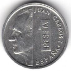 1 песета 1995 Испания - 1 peseta 1995 Spain, из оборота
