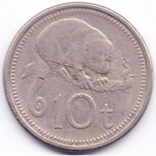 10 тойя 1999 Папуа-Новая Гвинея - 10 toya 1999 Papua New Guinea, из оборота