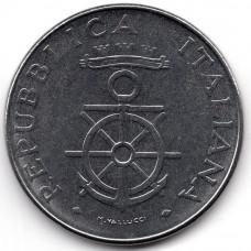 100 лир 1981 Италия - 100 lire 1981 Italy, из оборота