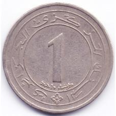 1 динар 1987 Алжир - 1 dinar 1987 Algeria, из оборота
