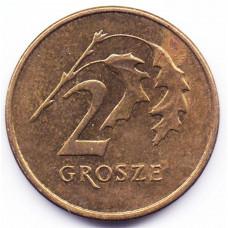 2 гроша 2006 Польша - 2 grosze 2006 Poland, из оборота