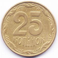 25 копеек 2006 Украина - 25 kopecks 2006 Ukraine, из оборота