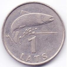 1 лат 1992 Латвия - 1 lat 1992 Latvia, из оборота