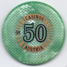 Жетон игровой - Casinos Austria 50