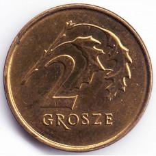 2 гроша 2013 Польша - 2 grosze 2013 Poland, из оборота