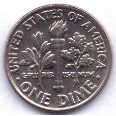 1 дайм (10 центов) 1996 США - 1 dime (10 cents) 1996 USA, P, из оборота