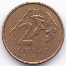 2 гроша 1999 Польша - 2 grosze 1999 Poland, из оборота