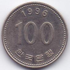 100 вон 1996 Южная Корея - 100 won 1996 South Korea, из оборота