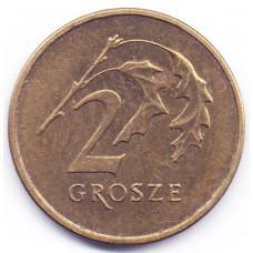 2 гроша 2008 Польша - 2 grosze 2008 Poland, из оборота