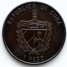 1 песо 1994 Куба - 1 peso 1994 Cuba, из оборота