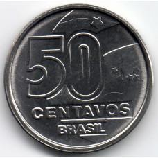 50 сентаво 1989 Бразилия - 50 centavo 1989 Brazil, из оборота