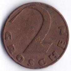 2 гроша 1929 Австрия - 2 groschen 1929 Austria