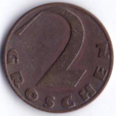 2 гроша 1928 Австрия - 2 groschen 1928 Austria