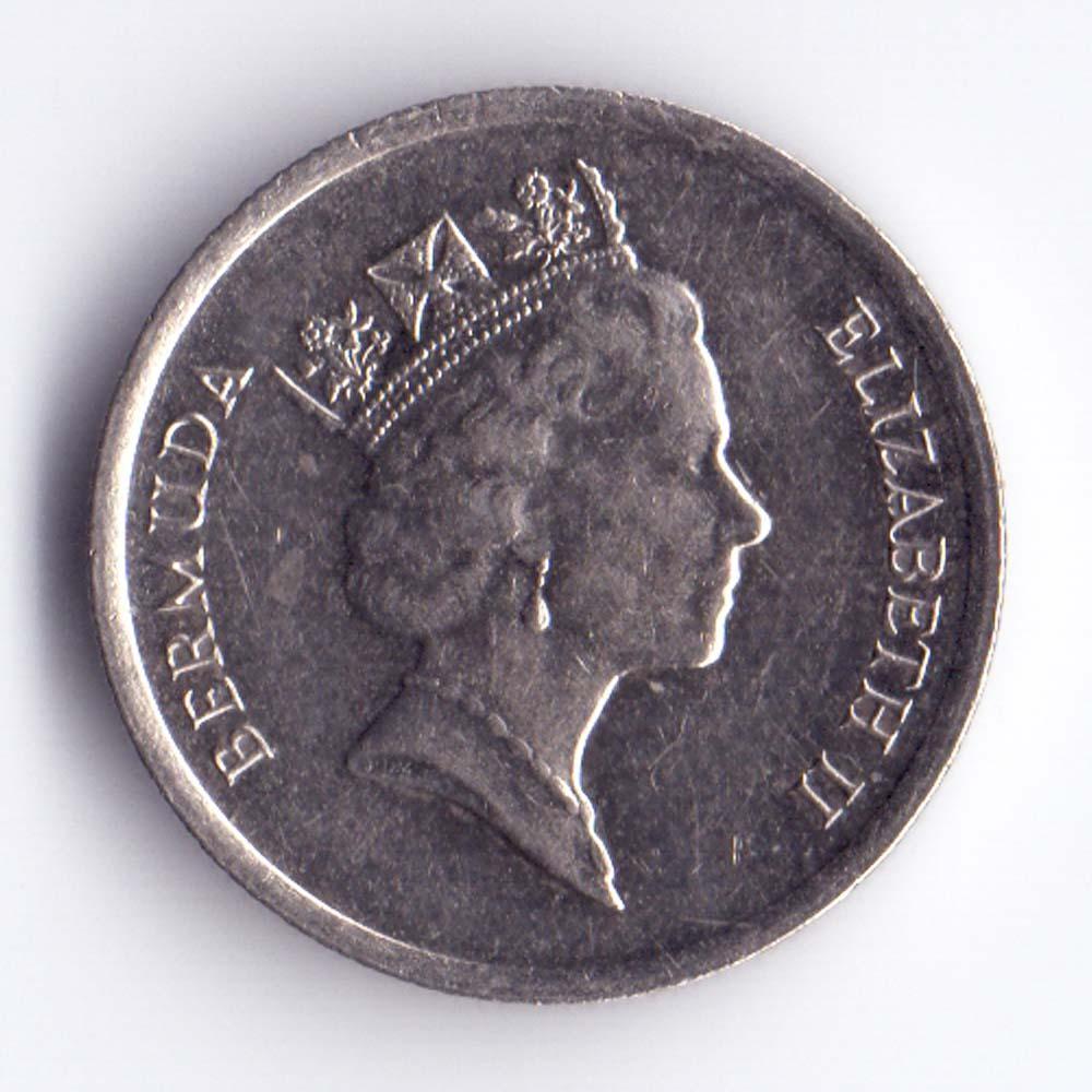 10 центов 1988 Бермудские острова - 10 cents 1988 Bermuda