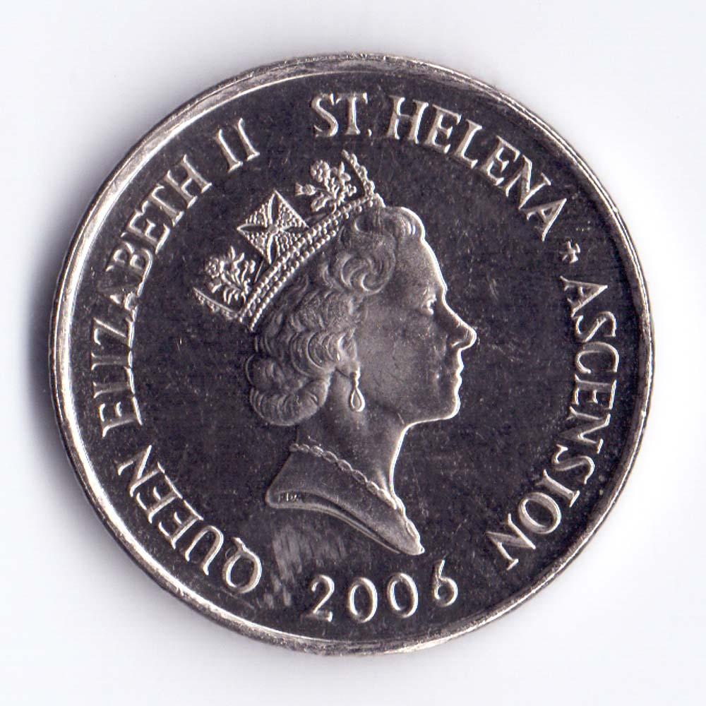 10 пенсов 2006 Остров Святой Елены и острова Вознесения - 10 pence 2006 Saint Helena, Ascension