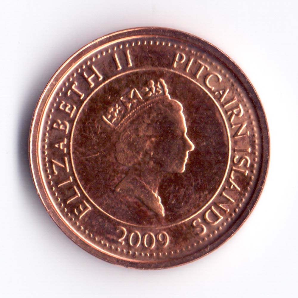 5 центов 2007 остров Питкэрн - 5 cents 2009 Pitcairn Islands