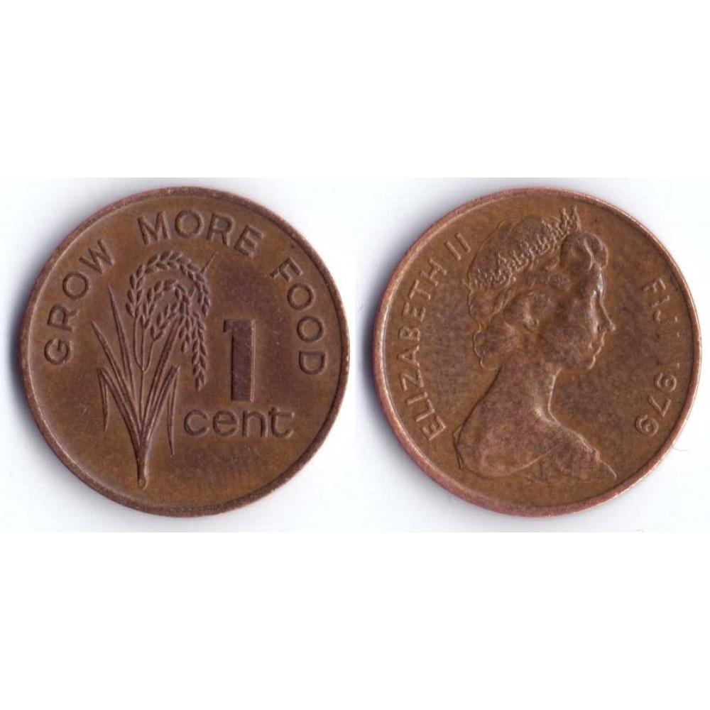 1 Цент 1979 Фиджи - 1 Cent 1979 Fiji