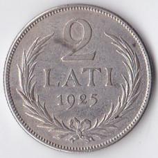 2 лата 1925 Латвия - 2 lati 1925 Latvia