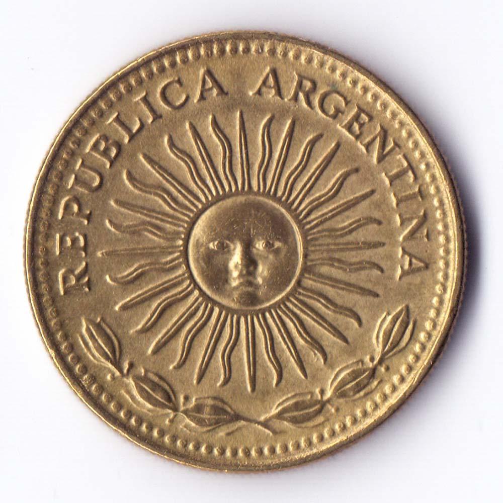 1 песо 1976 Аргентина