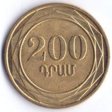 200 драмов 2003 Армения - 200 drams 2003 Armenia, из оборота