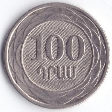 100 драмов 2003 Армения - 100 drams 2003 Armenia, из оборота