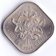 15 центов 1966 Багамские острова - 15 cents 1966 Bahamas