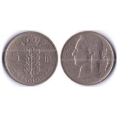 5 Franc BELGIQUE 1949 Q - 5 франков Бельгия 1949 Q