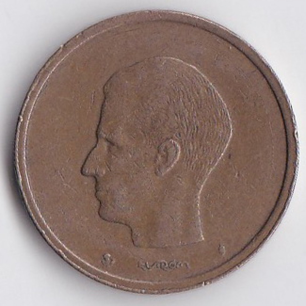 20 франков 1981 Бельгия - 20 francs 1981 Belgium (BELGIE)