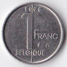 1 франк 1995 Бельгия - 1 franc 1995 Belgium (BELGIQUE)
