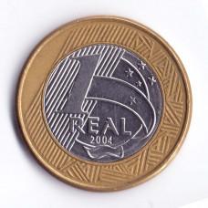 1 реал 2004 Бразилия