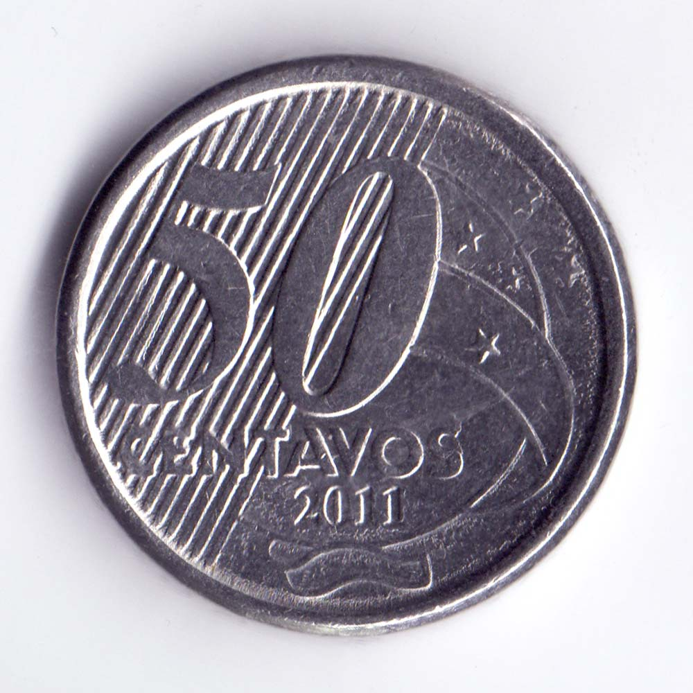 50 сентаво 2011 Бразилия