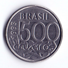 500 крузейро 1993 Бразилия