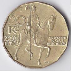 20 крон 1993 Чехия - 20 korun 1993 Czech