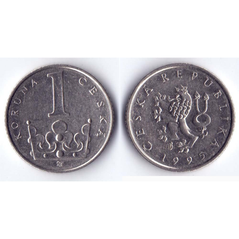 1 крона 1995 Чехия